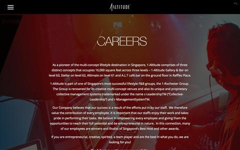 Screenshot of Jobs Page 1-altitude.com - Career opportunities at 1-Altitude  | 1-Altitude - captured July 4, 2018