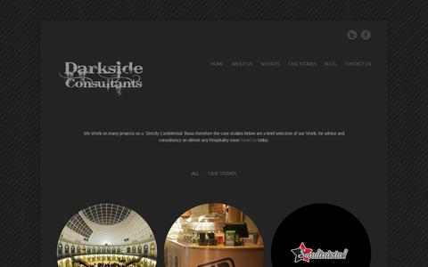 Screenshot of Case Studies Page darksideconsultants.com - Case Studies - Darkside Consultants - captured Sept. 30, 2014