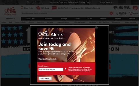 Guitar Center: Music Instruments, Accessories and Equipment