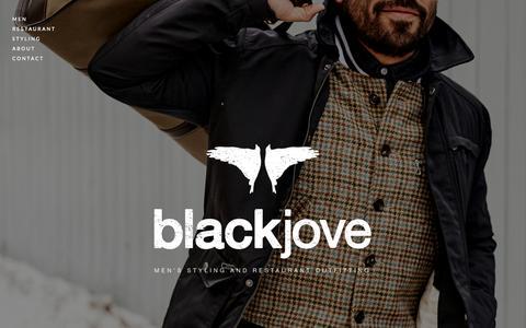 Screenshot of Home Page blackjove.com - Blackjove - captured June 23, 2015