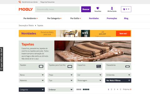 Tapetes - Lar, confortável, lar | Mobly