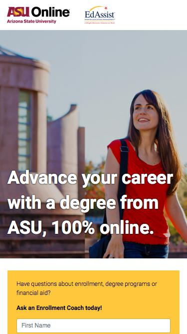ASU Online Degree Programs | Arizona State University Online