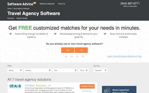 Best Travel Agency Software - 2017 Reviews & Pricing