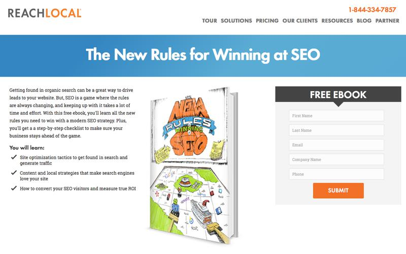 Ebook: The New Rules for Winning SEO | ReachLocal