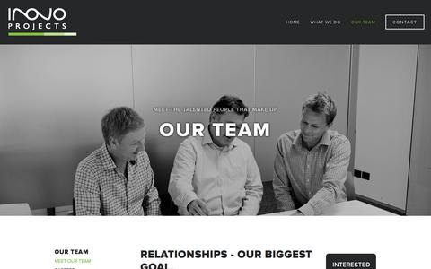 Screenshot of Team Page inovoprojects.co.nz - Meet Our Team — Inovo Projects Ltd - captured Oct. 5, 2014
