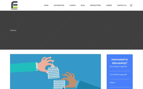 Screenshot of Blog frontenders.in - Healthcare Blogs | Hospital Project Consultant India | FrontEnders - captured Oct. 24, 2018