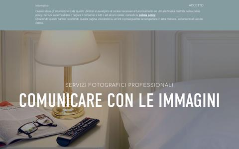 Screenshot of Home Page etacom.it - WEB AGENCY NAPOLI   GRAFICA PUBBLICITARIA NAPOLI   FOTOGRAFIA PER HOTEL   ETACOM - captured Oct. 15, 2018