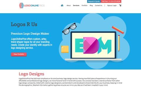 Screenshot of Pricing Page logoonlinepros.com - Logo Design Online, Best Affordable Logo Designers, Professional Logos - captured Dec. 11, 2015