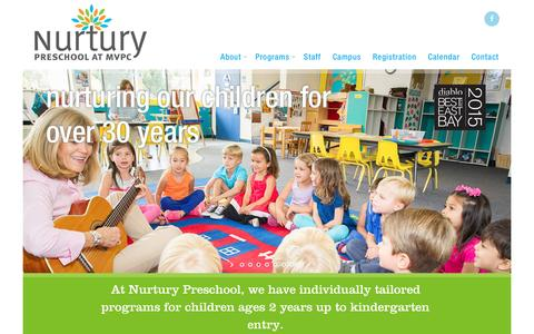 Screenshot of Home Page Maps & Directions Page thenurturypreschool.com - The Nurtury Preschool - captured Feb. 16, 2016