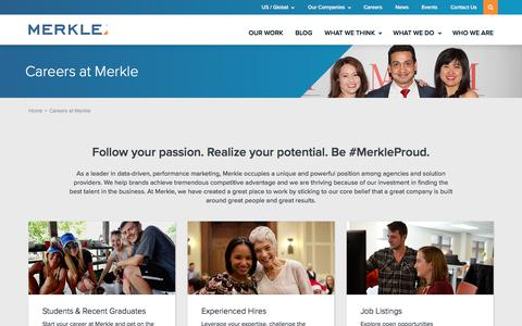 Careers at Merkle | Merkle