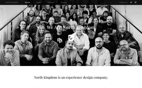 Screenshot of About Page northkingdom.com - About Ý North Kingdom - captured Nov. 23, 2015