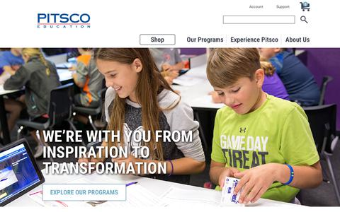 Pitsco Education | K-12 Future-Ready STEM Learning