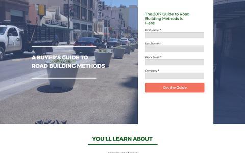 Screenshot of Landing Page midwestind.com captured Sept. 18, 2017
