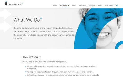 Expert Branding & Marketing Services - BrandExtract