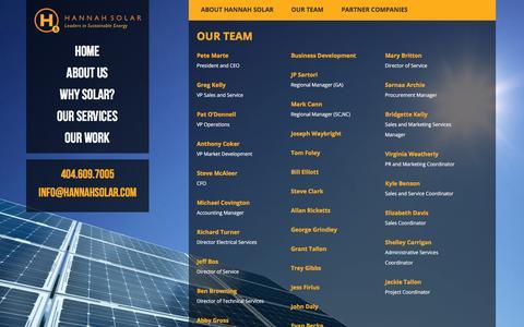 Our Team - Hannah Solar