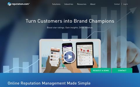 Reputation.com | Reputation Management, Reputation