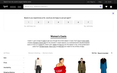 Shop Women's Coats