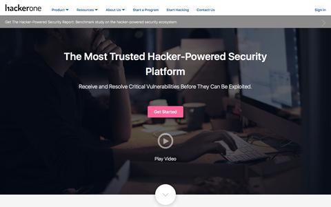 Bug Bounty, Vulnerability Coordination - HackerOne