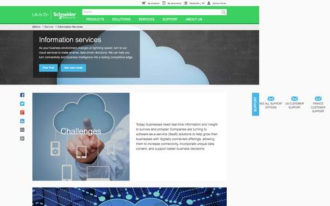Cloud Services | Schneider Electric