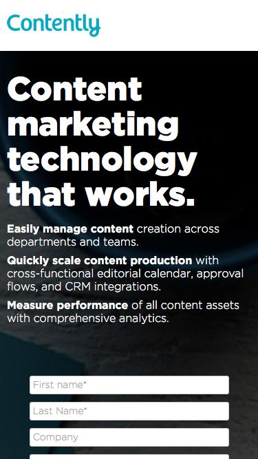 Content Solutions - Contently