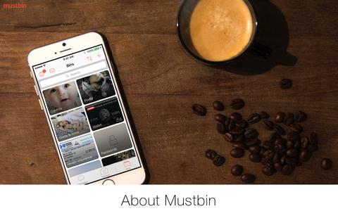 About Us | Mustbin