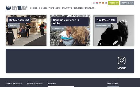 Screenshot of Press Page bykay.com - News • ByKay - captured June 3, 2017