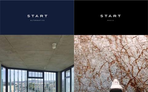 Screenshot of Home Page start-alternative.com - Start Media / Start Alternative - captured Feb. 16, 2016