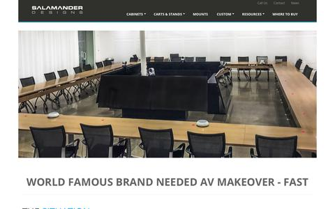 Screenshot of Case Studies Page salamanderdesigns.com - Case Study | Salamander Commercial - captured Oct. 21, 2018