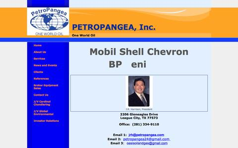 Screenshot of Contact Page globaloil.co - Petroleum Supplier Inc - captured Oct. 2, 2014
