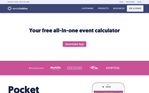 The #1 Catering Calculator For All Types Of Events | Get It Free