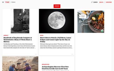Science | Time.com