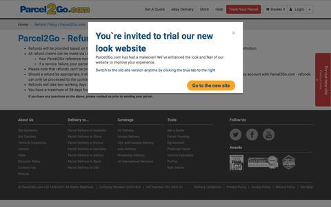 Refund Policy   Parcel2Go.com