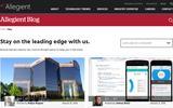 New Screenshot Allegient, LLC Blog