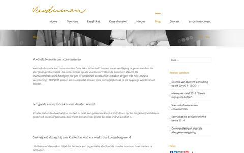 Screenshot of Blog vierduinen.nl - Vierduinen Hospitality Management Blog Archives - Vierduinen Hospitality Management - captured Oct. 20, 2018