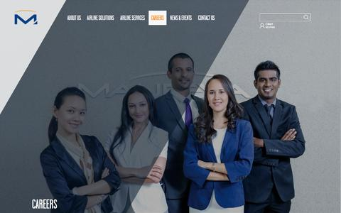 Screenshot of Jobs Page maureva.com - Careers - Maureva - captured Sept. 21, 2016
