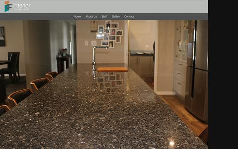 Screenshot of Home Page interior.co.nz - Interior Fittings :: Home - captured April 12, 2017