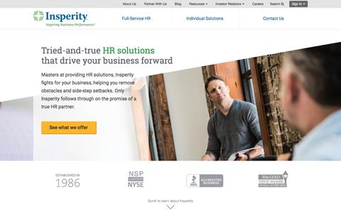 HR Solutions for Small & Mid-Sized Businesses | Insperity