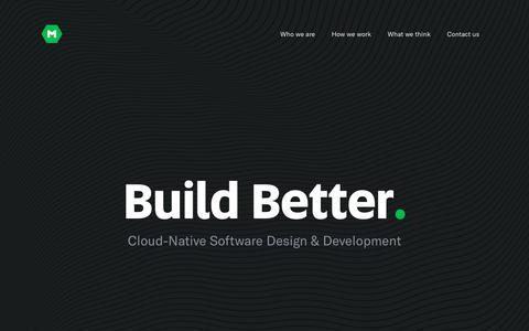A Cloud-Native Software Development & Design Company | MojoTech
