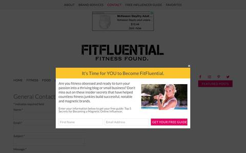 Contact Us - FitFluential