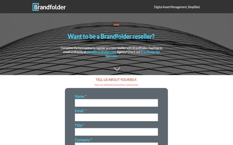 Brandfolder Resellers: Interested In Partnering With The #1 DAM Platform?
