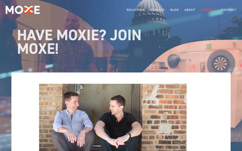 Careers - Moxe Health