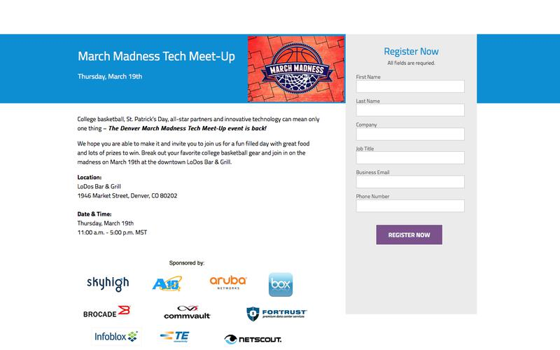 March Madness Tech Meet-Up in Colorado