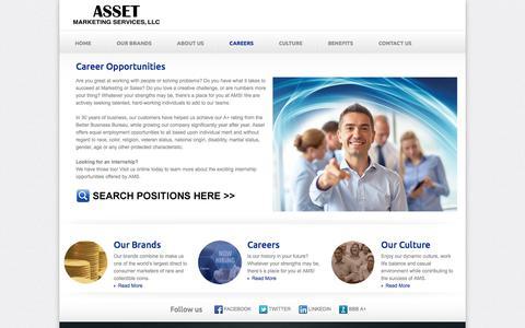 Career Opportunities | Asset Marketing Services, LLC