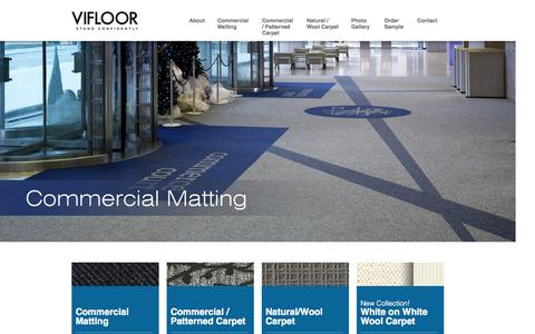 Screenshot of Home Page vifloor.com - Vifloor | Stand Confidently… Style, Innovation & Service - captured Jan. 26, 2015