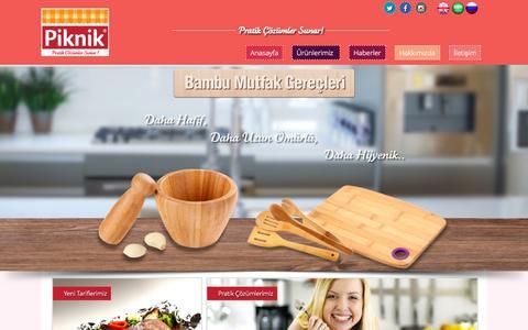 Screenshot of Home Page piknik.com.tr - Piknik | Pratik Çözümler Sunar! - captured Oct. 10, 2015