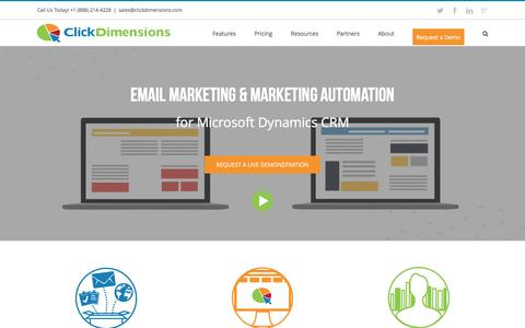 ClickDimensions Marketing Automation for Microsoft CRM
