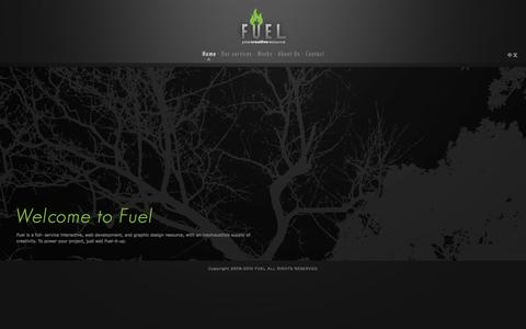 Screenshot of Home Page fuel-it-up.com - Fuel - Your creative resource, fuel it up - captured March 15, 2016