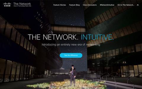 Screenshot of Press Page cisco.com - The Network Intuitive | The Network, Cisco's Newsroom - captured June 21, 2017