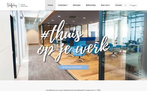 Screenshot of Home Page schaffenburg.nl - Home - Schaffenburg - captured Aug. 9, 2019