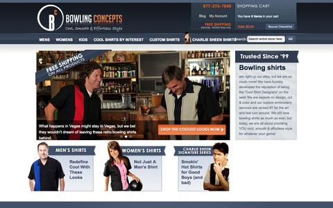 Screenshot of Site Map Page bowlingconcepts.com - Bowling Shirts | FREE SHIPPING on All Orders - captured Nov. 4, 2014